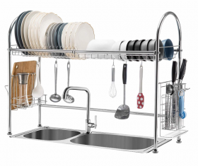 厨房收纳架不锈钢