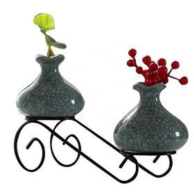 桌面植物架