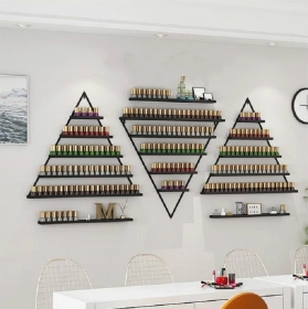 三角形指甲油壁架