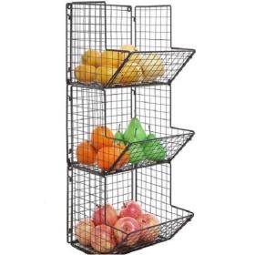 金属壁挂式蔬菜水果篮